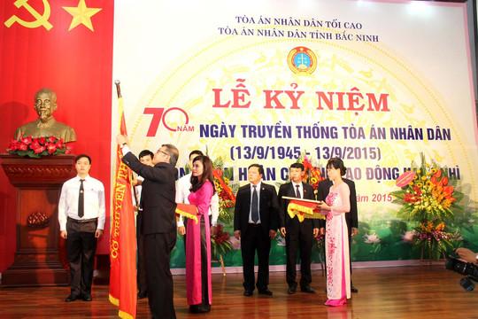 TAND tỉnh Bắc Ninh kỷ niệm 70 năm ngày Truyền thống và đón nhận Huân chương Lao động hạng Nhì