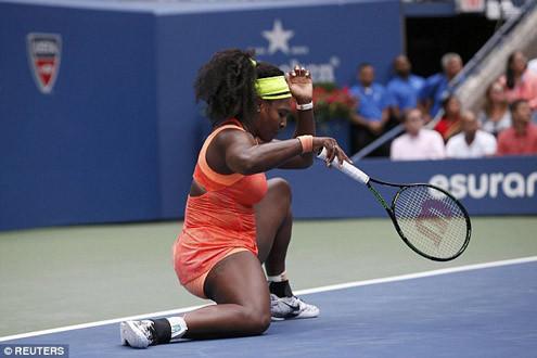 Bất ngờ bị loại ở bán kết US Open 2015, Serena Williams thành cựu vương
