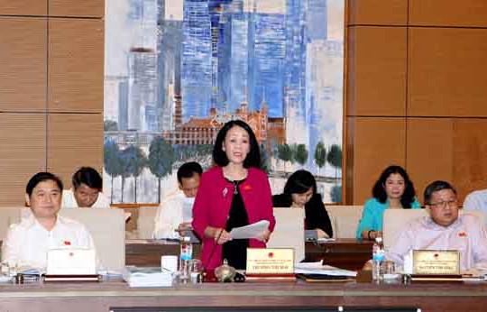 Phiên họp thứ 41, Ủy ban Thường vụ Quốc hội cho ý kiến vào dự án Luật Báo chí (sửa đổi)