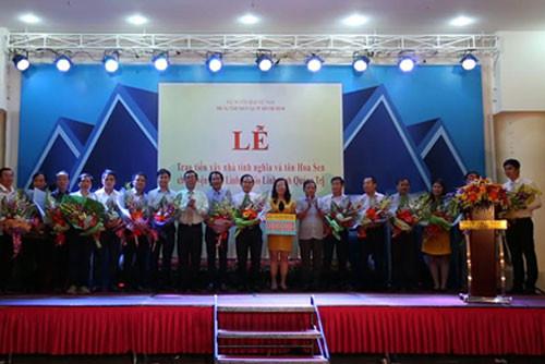 Tập đoàn Number 1 tặng nhà tình nghĩa ở Quảng Trị