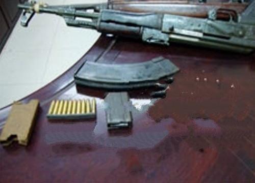 Mua súng quân dụng, bắn chết heo của huyện đội