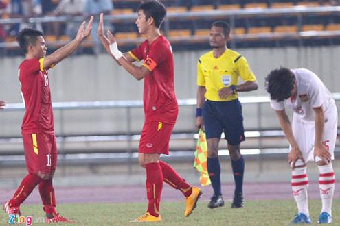 Thắng trận đầu, U19 Việt Nam đứng thứ hai bảng G vòng loại U19 châu Á