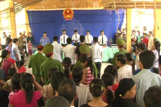 TAND huyện Quang Bình đẩy mạnh phong trào học tập và làm theo lời Bác