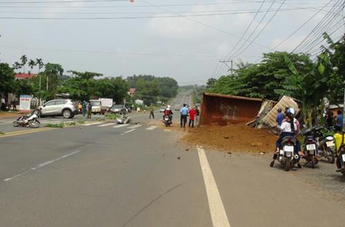 Tai nạn liên hoàn, Phó giám đốc Sở Xây dựng Bình Phước bị thương