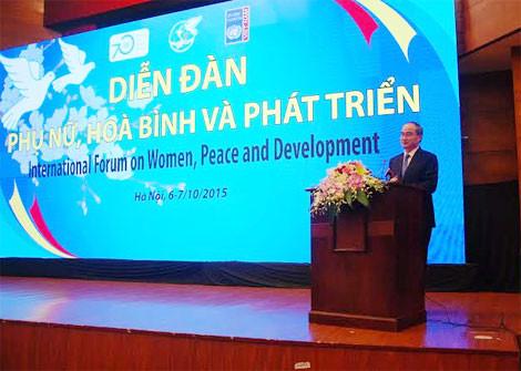 """Tin tức thời sự ngày 6/10: Bộ KHCN có Thứ trưởng 41 tuổi; Diễn đàn """"Phụ nữ - Hoà bình và phát triển"""""""