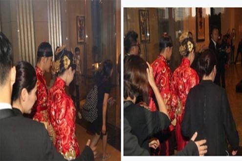 Dàn sao Hoa ngữ tấp nập dự đám cưới Huỳnh Hiểu Minh-Angela Baby