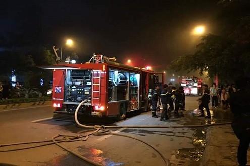 Vụ cháy ở KĐT Xa La: Khẩn trương khắc phục hậu quả