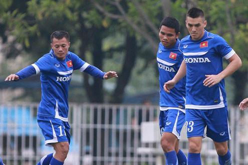 Chốt danh sách 23 cầu thủ tuyển Việt Nam dự trận gặp tuyển Thái Lan