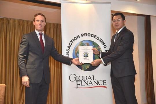 Sacombank nhận giải thưởng Ngân hàng cung cấp ngoại hối tốt nhất tại Việt Nam
