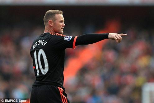 """HLV Van Gaal giở """"võ"""" với Wayne Rooney"""