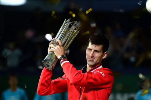 Novak Djokovic lên ngôi vô địch Giải Thượng Hải Masters