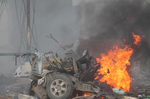 Somalia: Al-Shabaab nhận là thủ phạm vụ tấn công khách sạn làm 12 người thiệt mạng