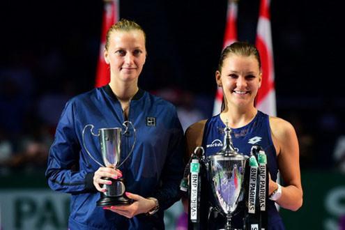 Aga Radwanska lên ngôi vô địch WTA Finals 2015