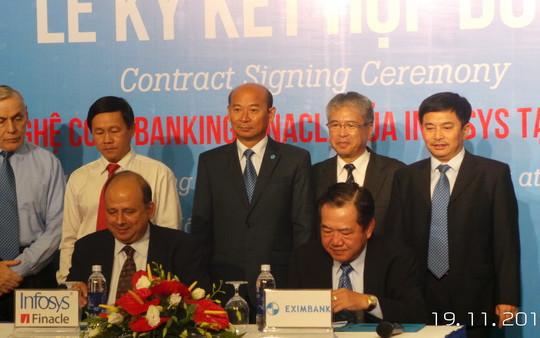 Eximbank và Infosys ký kết triển khai phần mềm Infosys Finacle Core Banking