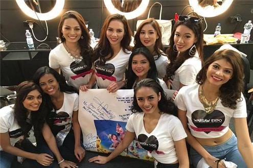"""Lệ Quyên mang """"Ước mơ của Thúy"""" đến Hoa hậu siêu Quốc gia 2015"""
