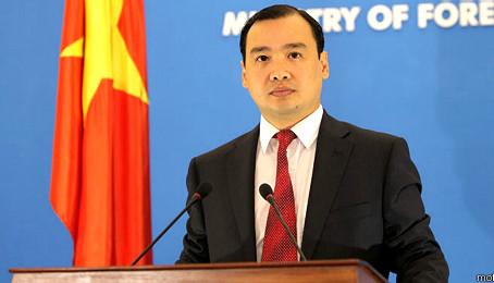 Người phát ngôn Bộ Ngoại giao Việt Nam trả lời vụ Thổ Nhĩ Kỳ bắn rơi máy bay Nga