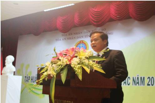 TAND tỉnh Lâm Đồng tổ chức hội nghị tập huấn và tổng kết công tác năm 2015