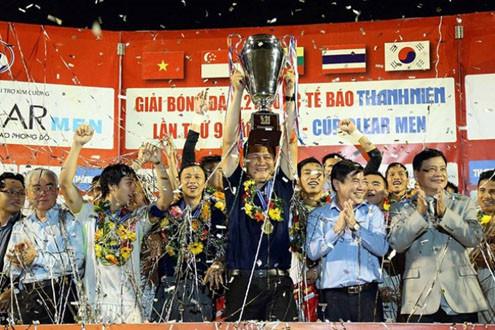 Vô  địch U21 Quốc tế, U21 HAGL nhận tiền tỉ