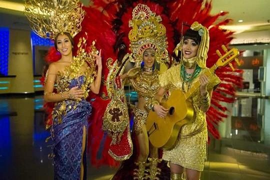 Chiêm ngưỡng những bộ trang phục truyền thống cầu kỳ tại Miss Universe 2015