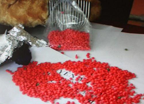 Sơn La: Bắt 2 đối tượng vận chuyển 1.200 viên ma túy tổng hợp