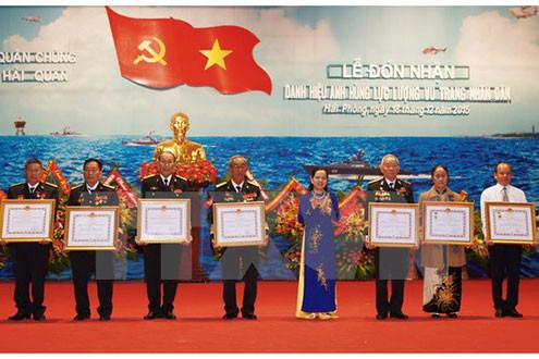 7 cá nhân xuất sắc được phong tặng Anh hùng lực lượng vũ trang nhân dân