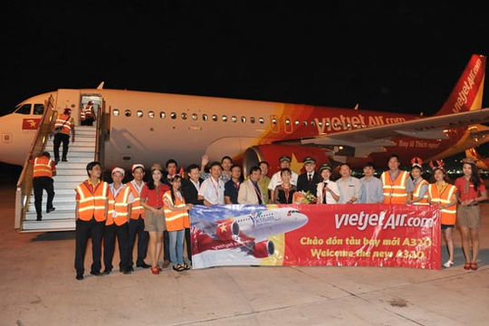 Vietjet vui mừng đón tàu bay A320 thứ 30