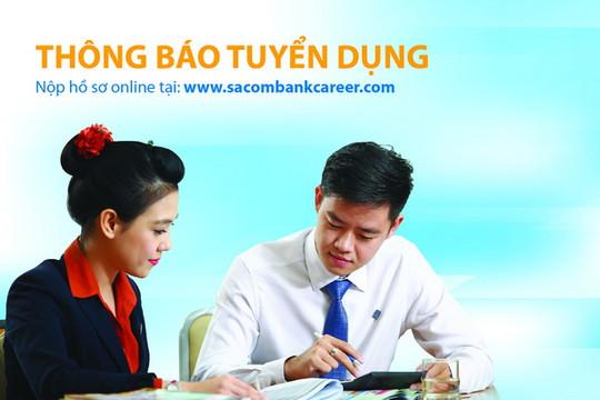 Sacombank tuyển dụng hơn 450 nhân sự mới