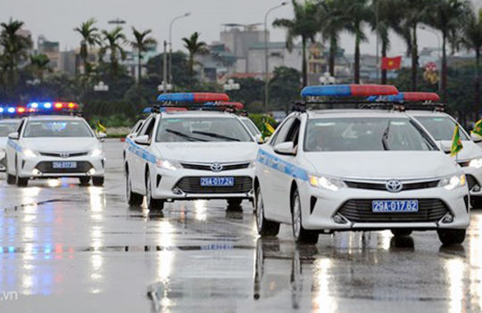 Lịch cấm đường, cấm xe phục vụ diễn tập bảo vệ Đại hội Đảng 12