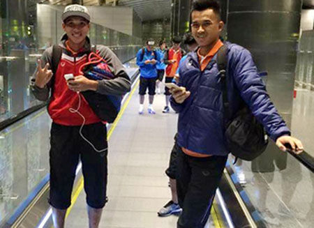 Tin tức thể thao 1/1/2016: U23 VN đã đặt chân đến Qatar