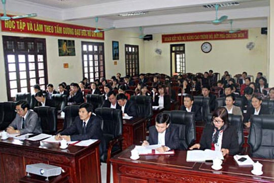 TAND hai cấp tỉnh Lạng Sơn đẩy mạnh cải cách hành chính tư pháp