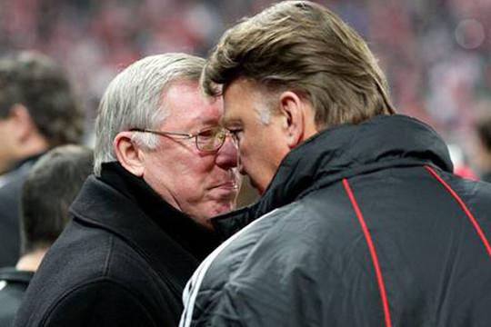 Rộ tin Sir Alex tái xuất nếu Van Gaal bị sa thải