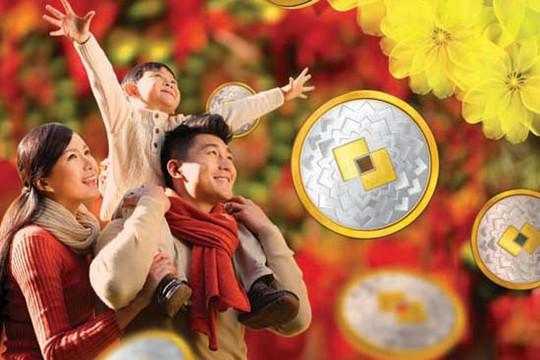 """""""Xuân đắc lộc - Tết như ý"""" - năm mới may mắn với hàng ngàn lộc xuân từ Techcombank"""