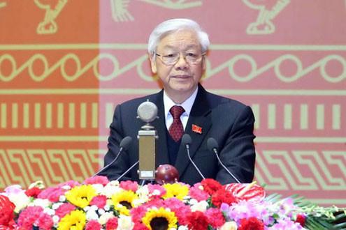 Toàn văn Báo cáo Tổng Bí thư trình bày tại Đại hội Đảng XII