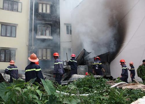 Cháy khách sạn tại thành phố Đà Lạt