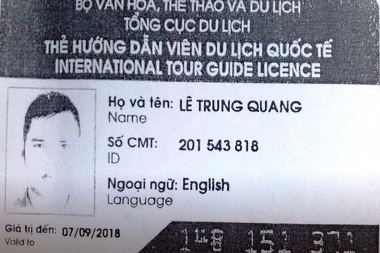 Hướng dẫn viên trốn vé ở Hội An bị phạt 7 triệu đồng