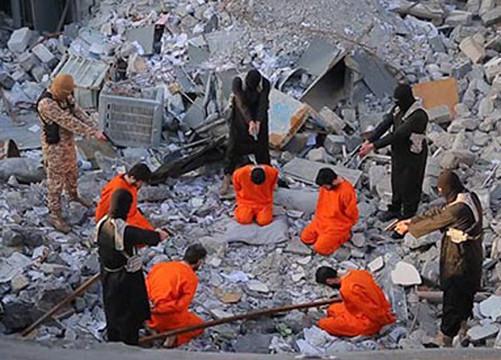 """IS công bố video hành quyết kẻ """"bội giáo"""""""