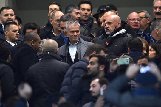 Tin tức thể thao 21/2: Mourinho xuất hiện tại Inter Milan