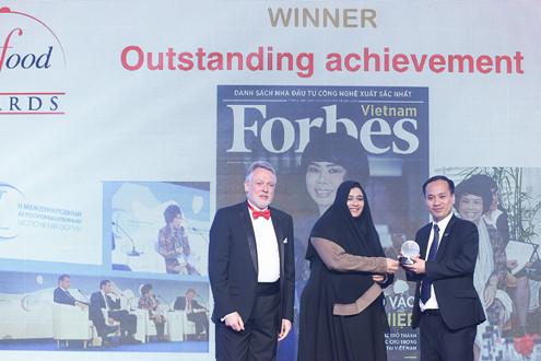 Tập đoàn TH đoạt 3 Giải thưởng lớn tại Hội chợ Quốc tế chuyên ngành thực phẩm Gulfood (Dubai)