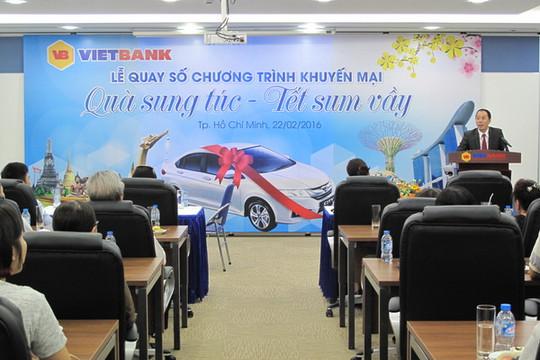 VietBank đã tìm ra khách hàng trúng xe ô tô Honda City