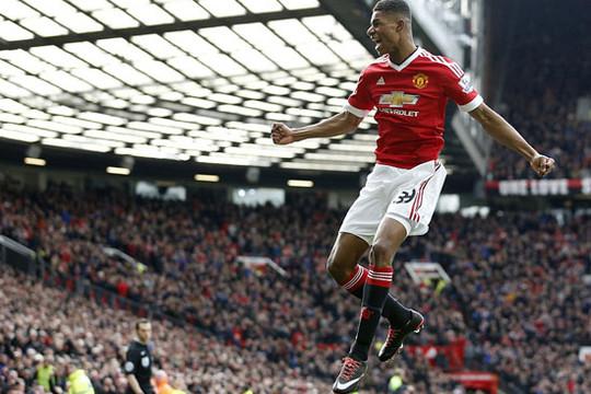 Cận cảnh M.U thắng Arsenal, Rashford lập kỷ lục