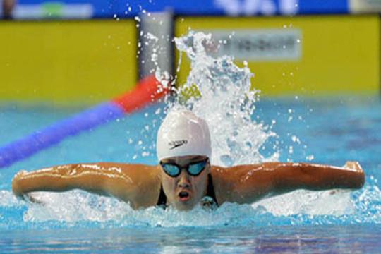 Ánh Viên xuất sắc giành HCB tại Giải bơi lội Arena Pro Swim