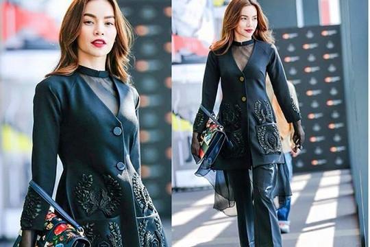 Hồ Ngọc Hà đẳng cấp và sang trọng tại Tokyo Fashion Week 2016