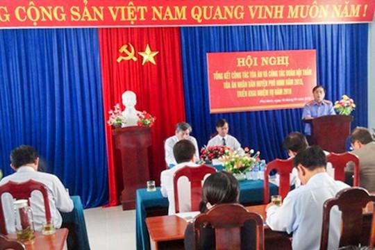 Tòa án huyện Phú Ninh, Quảng Nam: Quyết tâm nâng cao chất lượng xét xử
