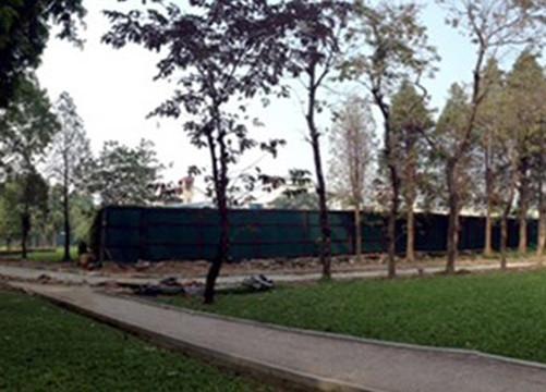 Bãi đỗ xe ngầm CV Thống Nhất: Không xây trung tâm thương mại trên mặt đất