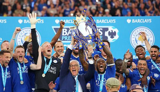 Chùm ảnh Leicester City đăng quang ngôi vô địch Premier League