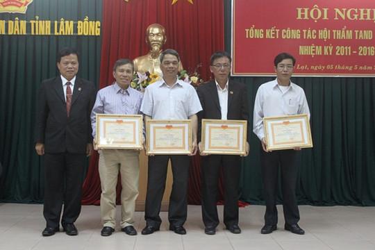 TAND tỉnh Lâm Đồng chú trọng công tác Hội thẩm nhân dân
