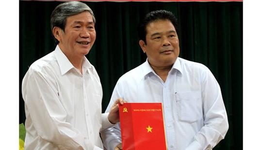 Trao quyết định Phó Trưởng ban Thường trực Ban Chỉ đạo Tây Nam bộ cho ông Sơn Minh Thắng