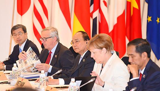 Thủ tướng chính thức tham dự Hội nghị G7 mở rộng