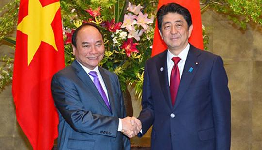 Hội đàm 2 Thủ tướng Nhật Bản-Việt Nam: Viện trợ khẩn cấp 2,5 triệu USD cho Việt Nam giải quyết hạn hán, xâm nhập mặn