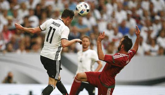 Đức thắng Hungary: Euro thêm một ứng viên nặng ký